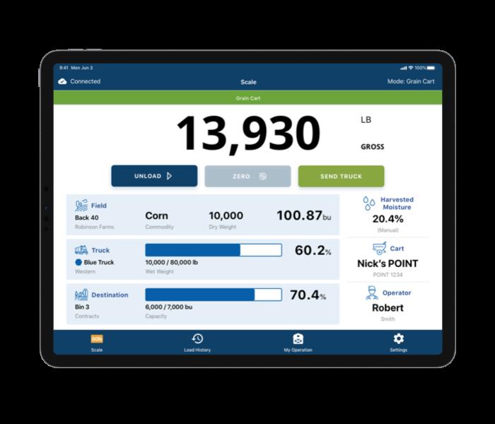 REAP App iPad Mockup Horizontal