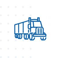 trucks graphic icon